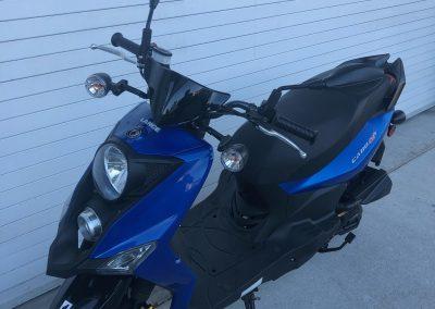 Blue scooter rental